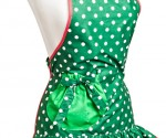 holiday aprons mistletoe