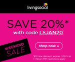 LivingSocial: Extra 20% Off Daily Deals for Maple Tavern, Monogram Necklace, T-Shirt Quilt + More