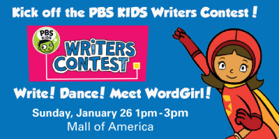 PBS Kids Writers Contest Kickoff
