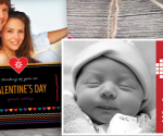Free Valentine's Day Card + Free Shipping from Cherishables