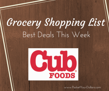 Cub Foods list logo