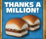 free White Castle sliders