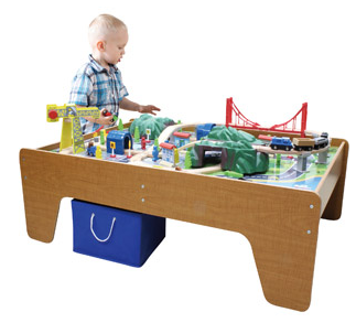 sc 1 st  Pocket Your Dollars & 100-Piece Train Table Set for $60 Shipped from Walmart.com