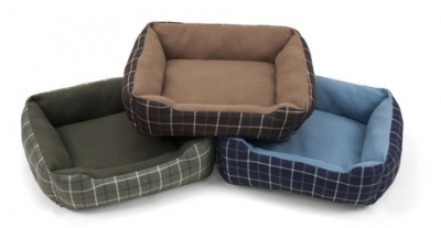 soft spot rectangular cuddler pet bed