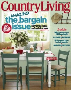 Country Living February 2014