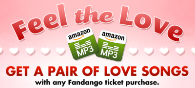 Fandango Amazon MP3 Gift with Purchase