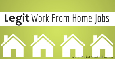 Legit Work-From-Home Jobs