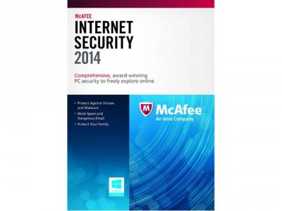 McAfee Internet Security 2014 + 8GB Flash Drive for Free After Mail-in Rebate from Newegg.com