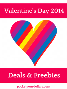 Valentines Day Deals and Freebies 2014