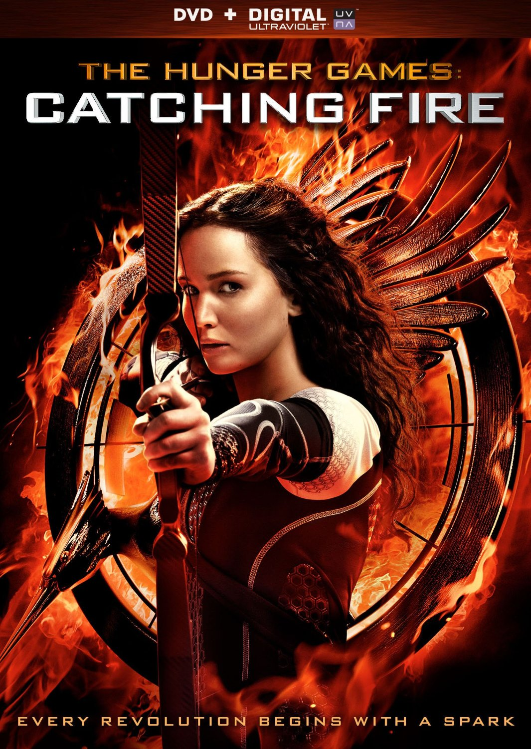 best price catching fire on dvd or blu