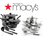 Highly Rated Tools of the Trade Cookware Sets at Macy's for $31.99 + Shipping