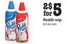 Cub Foods Reddi-wip deal