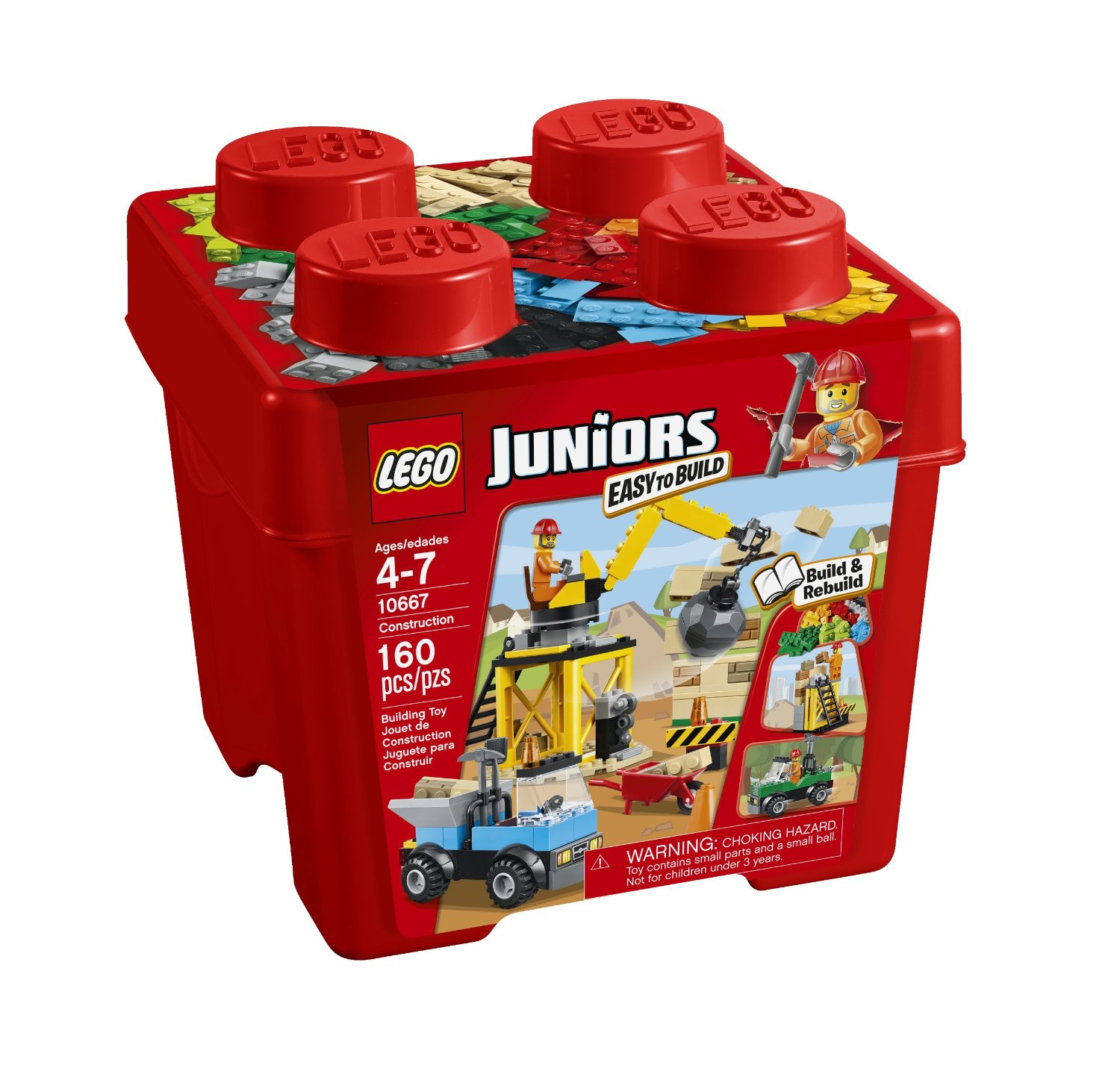 Toys For 15 00 For Boys : Lego juniors construction piece tub for free