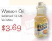 Rainbow Foods Wesson Oil deal