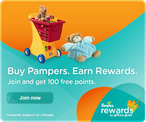 95 Free Pampers Rewards Points with These Codes