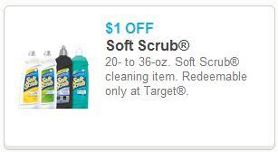 Soft Scrub Target printable