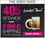 The Body Shop: Up to 80% Off + Free Shipping Sitewide (Today Only, 4/21)