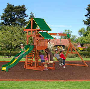 Walmart.com: Backyard Discovery Cedar Swing Sets from $299