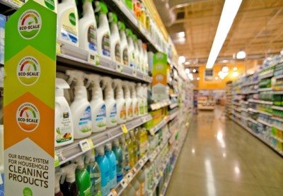 Whole Foods eco-scale cleaners