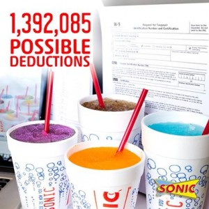 sonic tax day