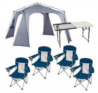 Walmart.com Ozark Trail Instant 14u2032 x 14u2032 Canopy with Table and Chairs Value Bundle  sc 1 st  Pocket Your Dollars & Walmart.com: Ozark Trail Canopy with Table and Chairs Value Bundle