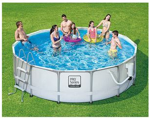 ProSeries 14 X 42 Ultra Frame Swimming Pool With Deluxe Kit