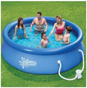 Summer Escapes 10 X 30 Easy Set Swimming Pool