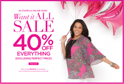 61b0ad44662 Catherines Clothing Sale  Get an Extra 40% Off Sitewide (Exp 5 10)