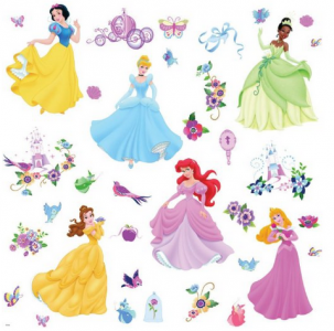 Inspirational Disney Princess Decals