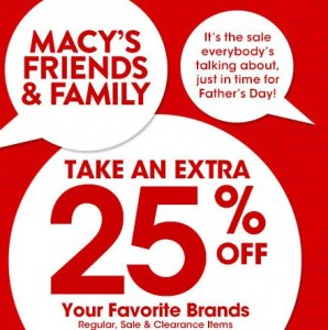 98509d3b1 Macy's Friends and Family Sale: Extra 25% Off (Exp. 6/9)