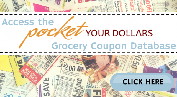 Pocket Your Dollars Coupon Database (3)