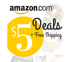 Amazon $5 Deals + Free Shipping Round-Up 7/12/15