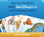 free disney world custom map