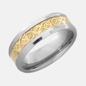 Cheap Stainless Steel Wedding Rings 86 Lovely golden dragon ring