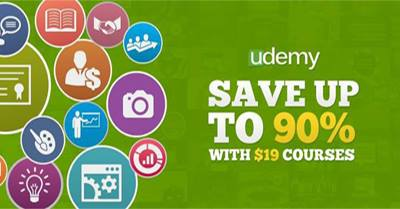 Udemy Coupon Code: Personal/Professional Courses $19