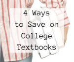 save on college textbooks