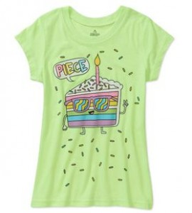 walmart girls 39 frozen t shirts and other graphic tees from 4