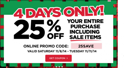 michaels extra 25 coupon