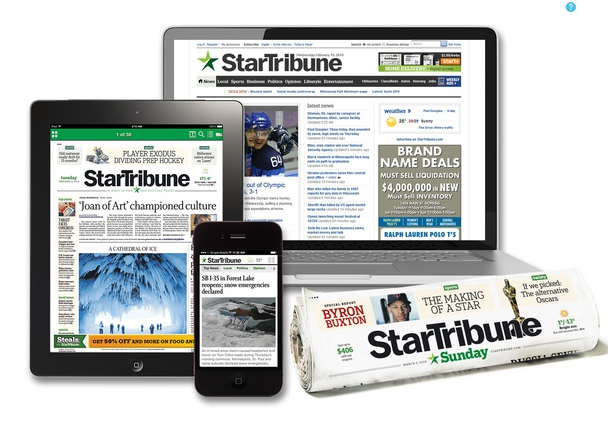 Customers who purchase a Minneapolis Star Tribune subscription receive comprehensive and in-depth news coverage. A well respected newspaper with strong local focus, compelling feature articles and sharp editorial content, Minneapolis Star Tribune newspaper readers are always well informed.