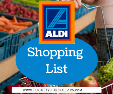 Aldi Shopping List 3/25/2018 – 3/31/2018