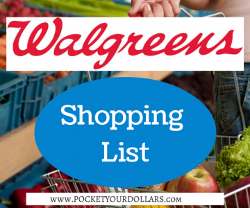 Best Deals at Walgreens 4/8/2018 — 4/14/2018