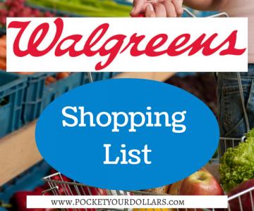Best Deals at Walgreens 10/14/2018 — 10/20/2018