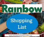 Rainbow Foods Shopping List 10/12 – 10/18/14