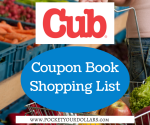 Cub Foods Shopping List 4/6 – 4/12/17