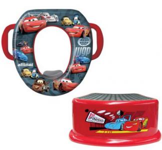 amazon cars potty seat and step stool combo 1342