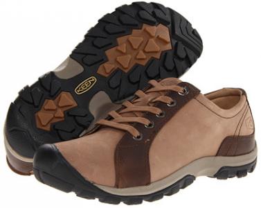 KEEN Women's Barika Lace Shoe,Chocolate Chip,5