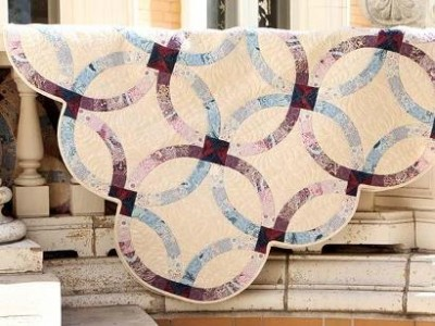 Double Wedding Ring Quilts For Sale 61 Elegant This Downton Abbey Double