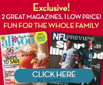 Get Sports Illustrated & All You Magazine for Only $20 (Exp. 10/31)