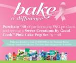 Free Pink Cake Pop Set w/ $30 P&G Purchase
