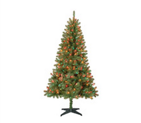 Walmart 6 5a A A Artificial Pre Lit Christmas Trees Only 39 99